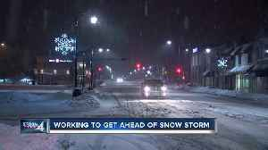 Preparations underway for snowstorm [Video]