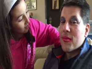 Girl Explains the Makeover she Gave her Dad [Video]