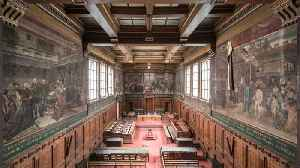 Final glimpses of an 19th century beautiful Belgium courthouse abandoned for 12 years that's soon to be renovated [Video]