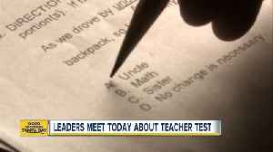 Florida leaders to discuss changes to Florida teacher licensing exam [Video]