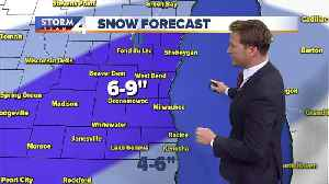 Winter Storm Warning for all of SE WI until noon [Video]