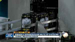 Local breweries in limbo during government shutdown [Video]