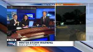 Mama Niz gives an update on the winter storm [Video]