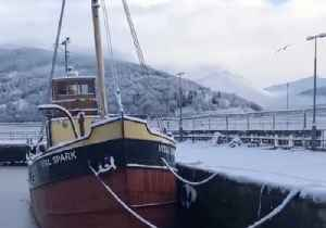 Inveraray Harbour Freezes Up as Cold Snap Bites in Scotland [Video]