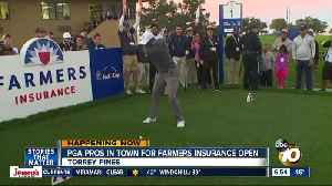 Tiger, other PGA stars take the course ahead of Farmers Insurance Open [Video]