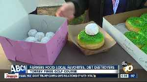 Food and golf come together at Farmers Insurance Open [Video]