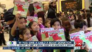 23ABC celebrating National Reading Day by donating several hundred books to local children [Video]