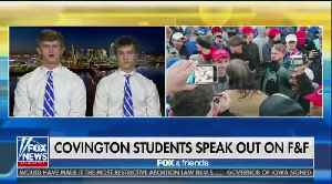 Covington Catholic students hit with threats of being burned alive and sexually abused [Video]