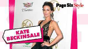 Kate Beckinsale took the 'plunge' in this $11K look [Video]