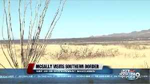 News video: McSally meets with border patrol agents in Nogales amid shutdown