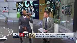 NFL-N-Motion: How the Los Angeles Rams shut down New Orleans Saints wide receiver Michael Thomas [Video]