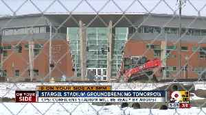 Will new Stargel Stadium be finished on time? [Video]