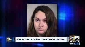 Arrest made in baby's death at Amazon facility [Video]