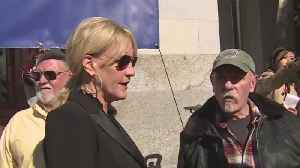 Camp Fire Victims, Erin Brockovich Protesting PG&E Bankruptcy [Video]