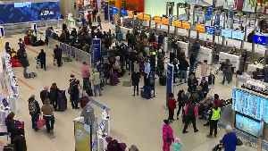 Frustration mounting at Logan following more delays, cancellations [Video]