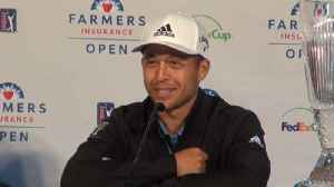 Xander Schauffele on his pairing with Tiger, playing in his hometown and more [Video]