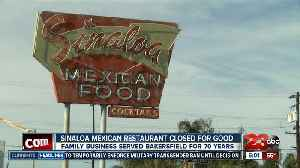 Sinaloa Mexican Restaurant closes doors after 70 years of business [Video]