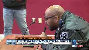 School Board Votes Against Bill to Arm School Police Officers [Video]