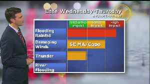 WBZ Evening Forecast For Jan. 22 [Video]