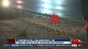 Lemon Spill on Highway 58 creates a sour situation [Video]