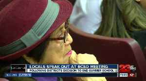 Locals speak out at BCSD meeting [Video]