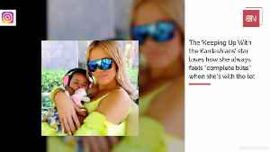 Khloe K Feels Complete Bliss Being A Mom [Video]