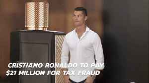 Cristiano Ronaldo Scores A Big Debt For Tax Fraud [Video]