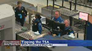 Tipping The TSA: What's Allowed, What's Not [Video]