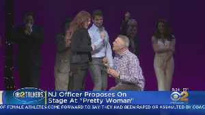 N.J. Officer Proposes At 'Pretty Woman' [Video]