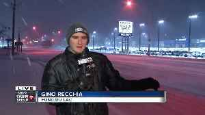Fond du Lac snow [Video]