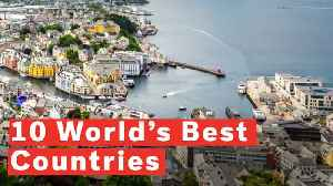 Top 10 World's Best Countries [Video]