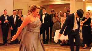 Mother and son's wedding dance leaves guests in awe [Video]