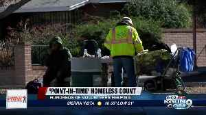Volunteers hit the streets for yearly point-in-time count [Video]