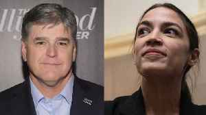 News video: Sean Hannity Awkwardly Gives Ocasio-Cortez New Nicknames