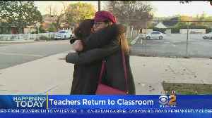 Teachers Ready To Go Back To Classrooms After 6-Day Strike [Video]
