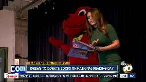 10News donating books to local elementary schools [Video]