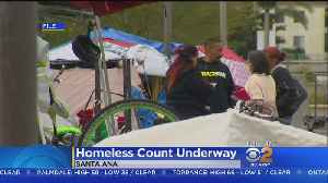 Orange County Volunteers Fan Out To Count Homeless [Video]