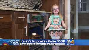 Kaley Giving Away Profits Made From Cupcakes [Video]