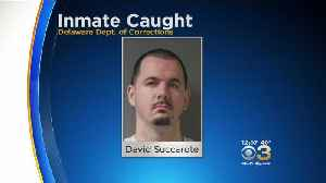 Escaped Delaware Inmate Found In New Jersey [Video]