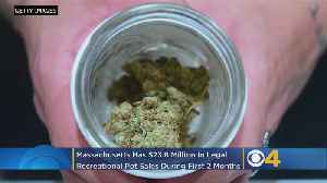 Massachusetts Sees Nearly $24 Million In Legal Pot Sales In First 2 Months [Video]
