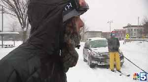 Watch: Skiing in the streets of Winooski [Video]