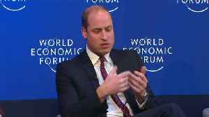 Britain's Prince William opens up on mental health issues [Video]