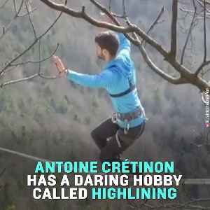 This French Athlete Is Highlining Across Incredible Landscapes [Video]