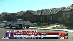 Possible human remains found in backyard of Southwest Bakersfield home [Video]