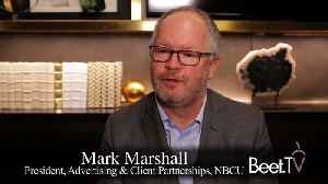 From Ad Loads To AI, NBCU's Marshall Charts A Better Sales Ecosystem [Video]