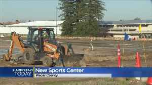 Ground Breaking At New Placer County Sports Center [Video]