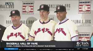 Rivera, Mussina, Martinez Talk About Election To The National Baseball Hall Of Fame [Video]