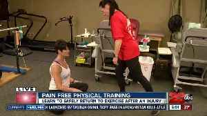 Learn to safely return to exercise after an injury [Video]