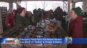 Emergency Food Pantry Set Up For Federal Workers [Video]
