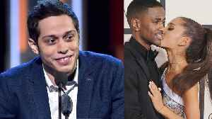 News video: Pete Davidson INSULTS Ariana Grande's & Big Sean's Past Relationship During Performance!